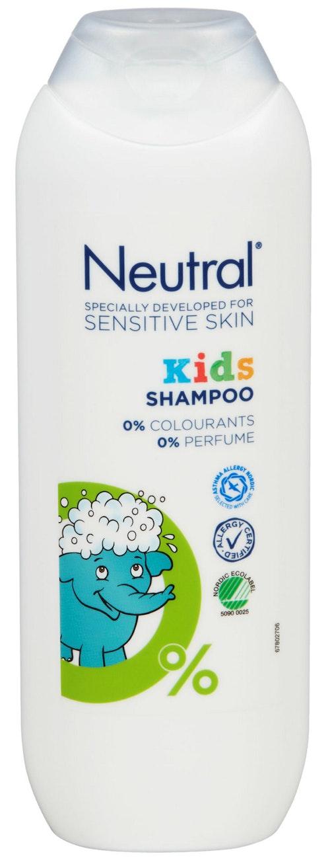 Neutral Neutral Kids Shampo Uten Parfyme, 250 ml