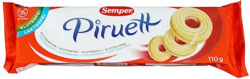 Semper Piruett Kjeks Glutenfri, 110 g