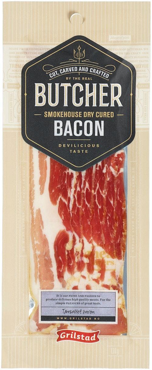 Grilstad Butcher Bacon Tørrmodnet, 110 g