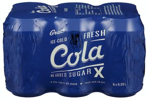 Grans Bryggeri Grans Cola X 6 x 0,33l, 1,98 l