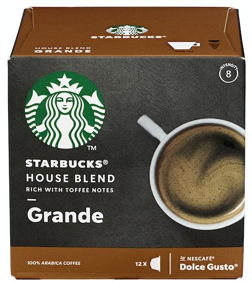Dolce Gusto Starbucks House Blend X12 102g 12 stk