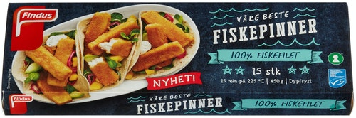 Findus Fiskepinner 450 g
