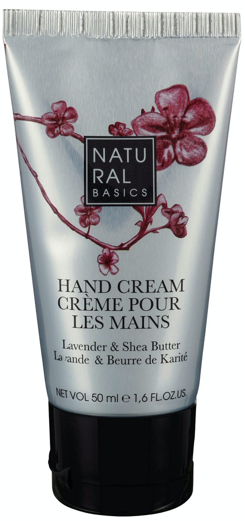 Natural Basics Moisturising Hand Cream, Lavender & Shea Butter 50 ml
