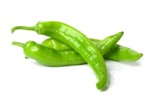 Chilipepper Grønn Spania, 50 g