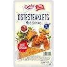 Ostesteaklet Med Røkt Skinke
