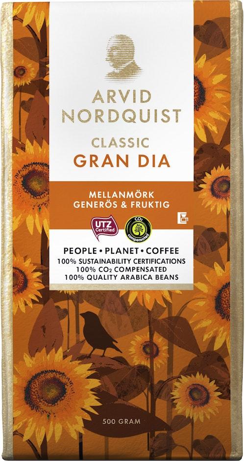 Arvid Nordquist Classic Gran Dia Filtermalt 500 g