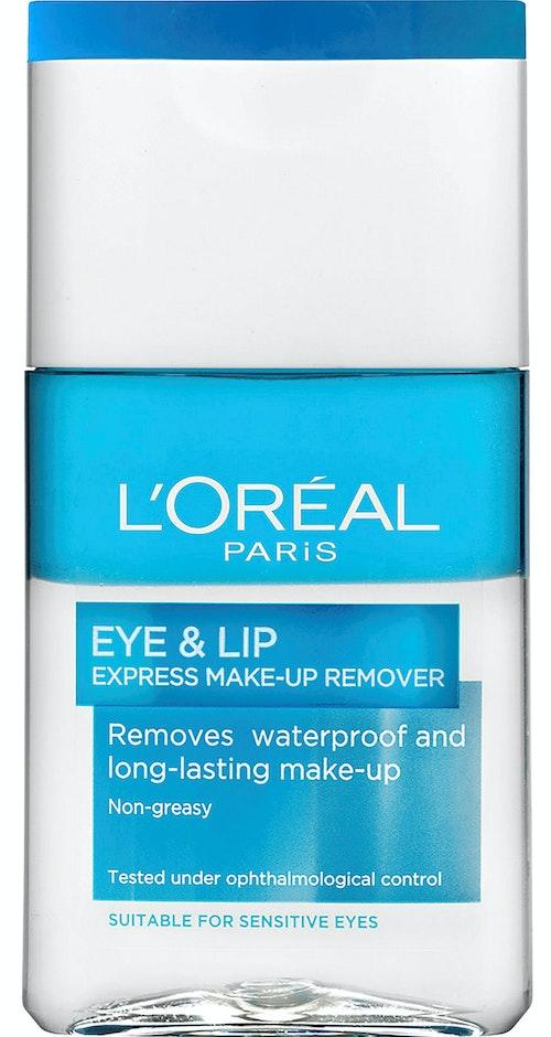 L'Oreal Eye & Lip Express Vannfast Sminkefjerner, 125 ml