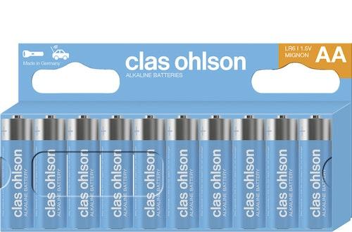 Clas Ohlson Co-batteri AA LR06, 10 stk