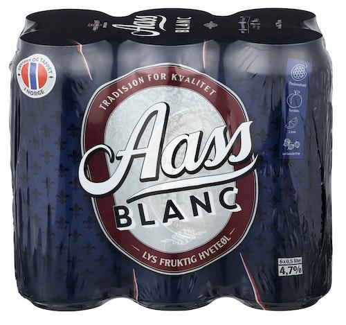 Aass Bryggeri Aass Blanc 6 x 0,5l, 3 l