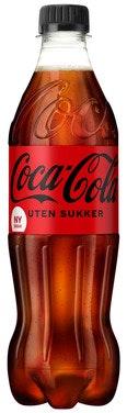 Coca-Cola Coca-Cola Uten Sukker 0,5 l