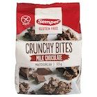 Crunchy Bites Melkesjokolade