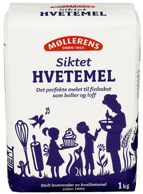 Møllerens Hvetemel Siktet, 1 kg