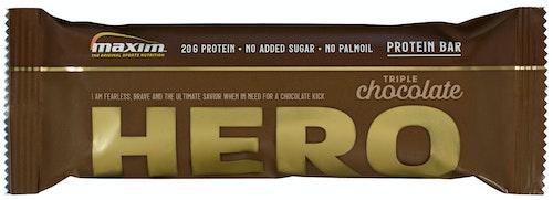 Maxim Maxim Hero Chocolate Proteinbar, 55 g