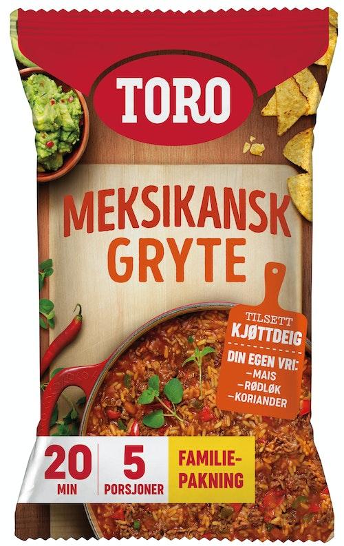 Toro Meksikansk Gryte Familiepakning, 284 g