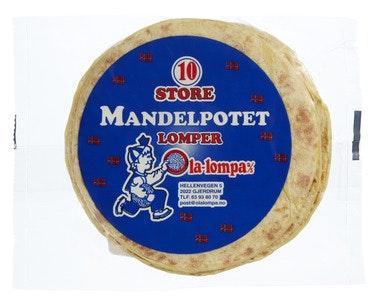 Ola Lompa Store Mandelpotet Lomper 10 stk