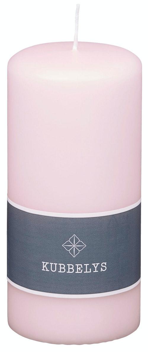 Kubbelys Lys Rosa 7x15 cm, 1 stk