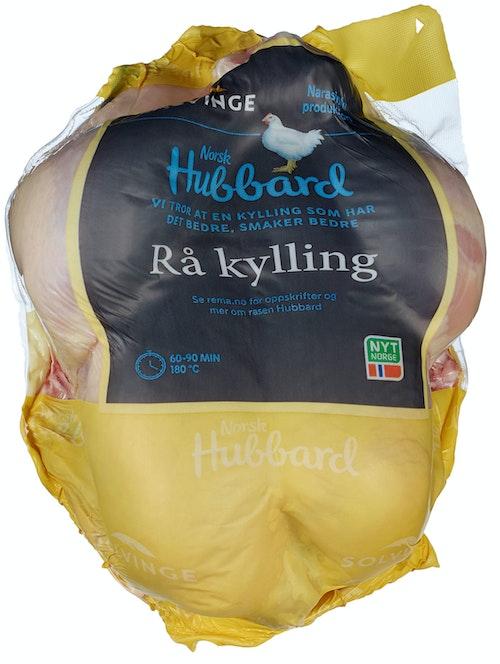 Solvinge Hel Rå Kylling Naturell ca. 1,5 kg
