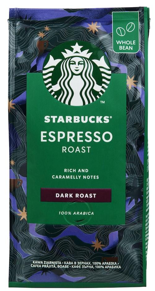 Starbucks Starbucks Espresso Dark Rwb hele bønner, 200 g