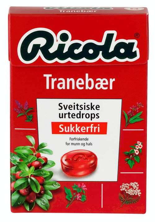 Ricola Ricola Tranebær 50 g