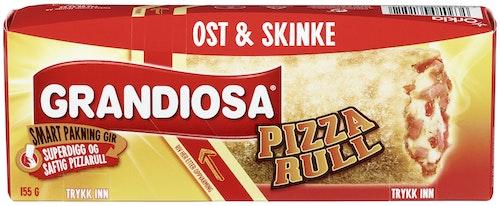 Grandiosa Grandiosa Pizzarull Ost & Skinke, 155 g