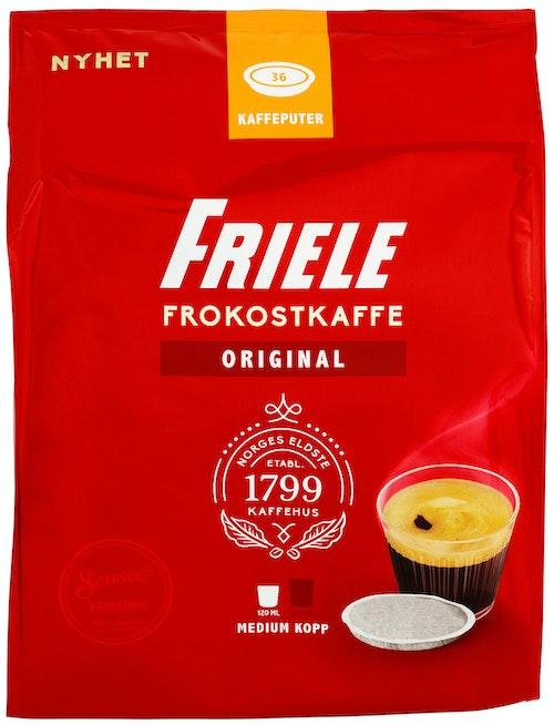 Friele Senseo Friele Medium kopp Kaffeputer, 36 stk