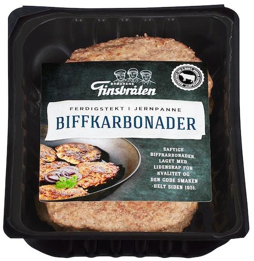 Finsbråten Biffkarbonader Pannestekt 360 g