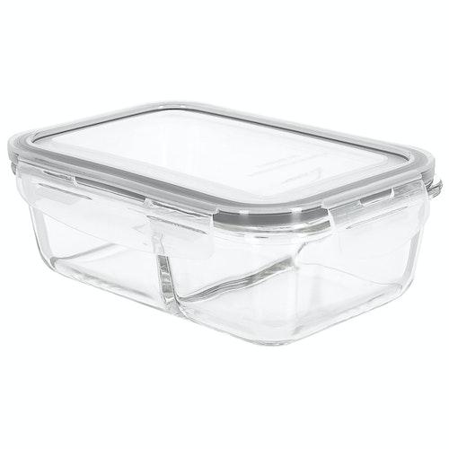Coline Matboks Glass 0,8l, 2 rom, 1 stk