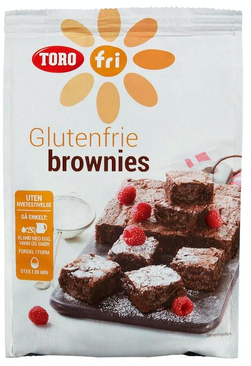 Toro Toro Brownies Glutenfri, 540 g