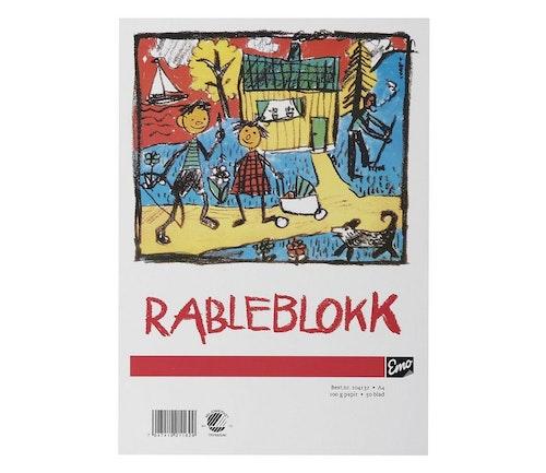 Emo Rableblokk A4 50 blad, 100g, 1 stk