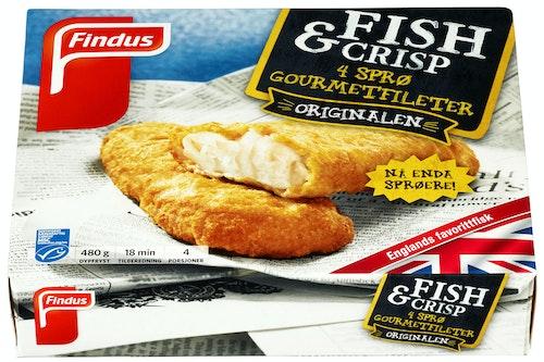 Findus Fish & Crisp Gourmet 480 g