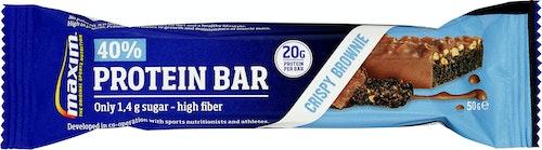 Maxim Maxim 40% Brownie Proteinbar, 50 g