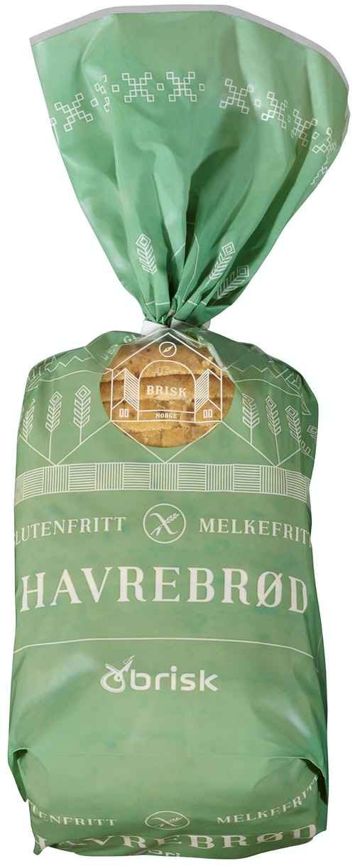 Brisk Glutenfri Havrebrød 500 g