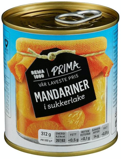 Prima Mandariner Hermetisk, 312 g
