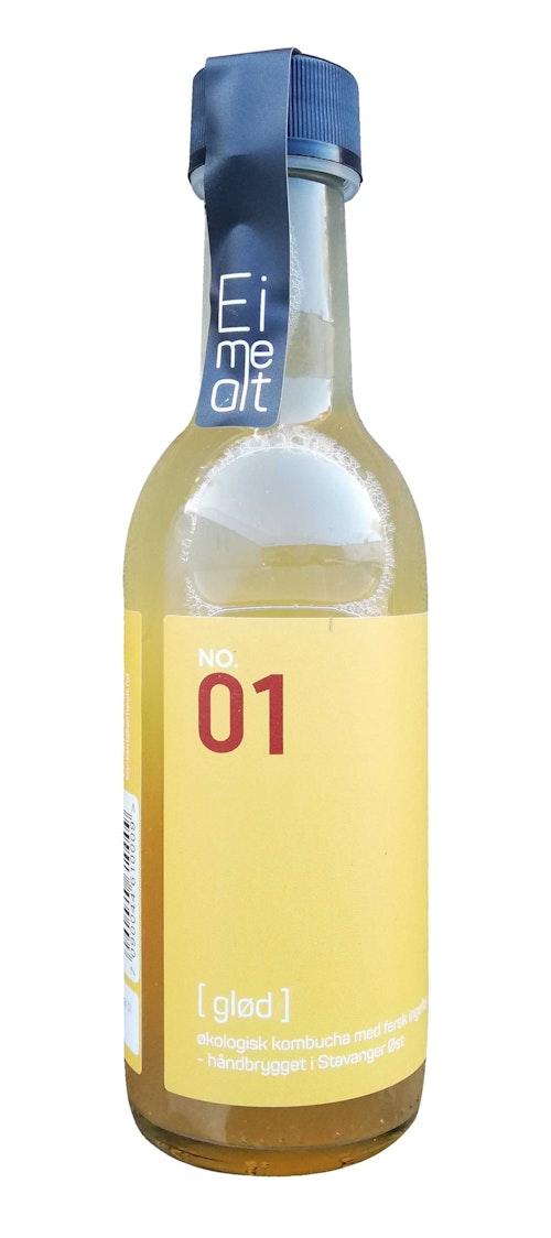 Eimealt Kombucha Ingefær 250 ml