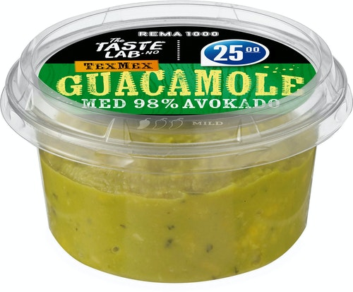 REMA 1000 Dip Mild Guacamole Taste Lab, 150 g