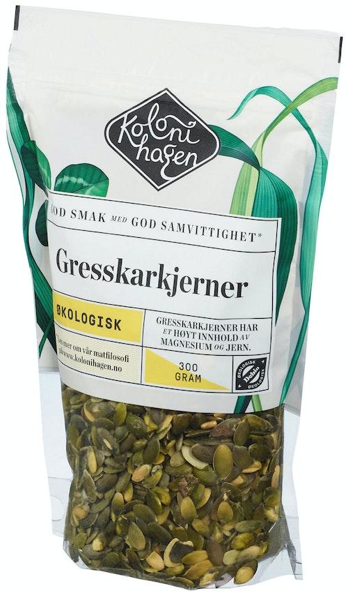 Kolonihagen Gresskarkjerner Økologisk, 300 g