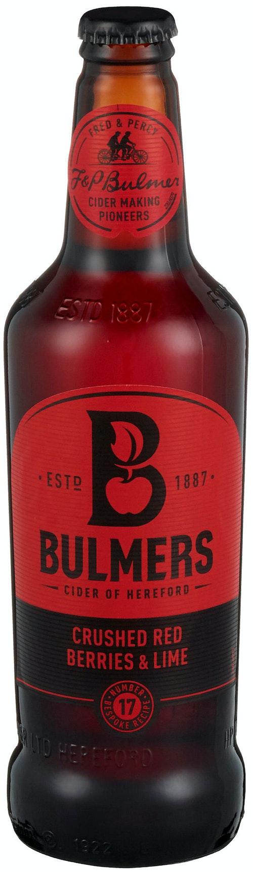 Bulmers Bulmers Crushed Red Berries & Lime 0,5 l