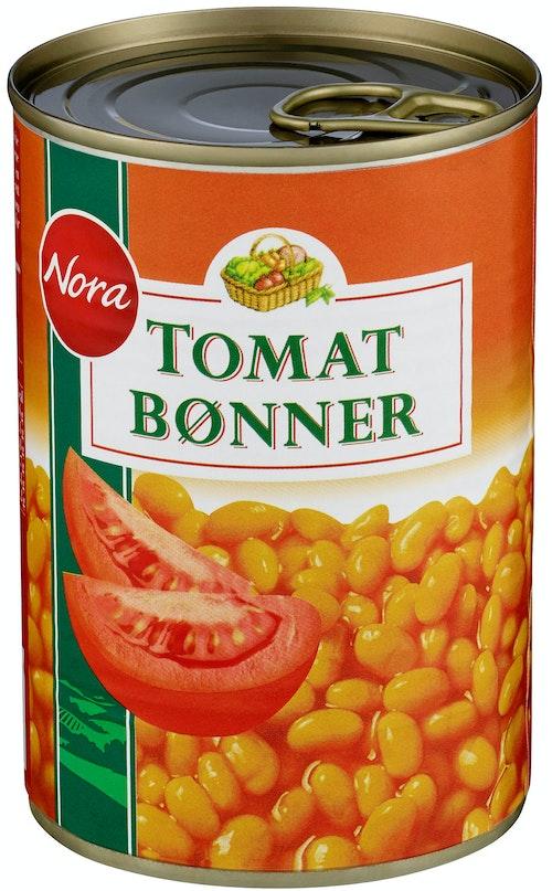 Nora Nora Tomatbønner 425 g