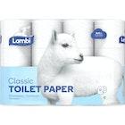 Toalettpapir Hvit Lambi