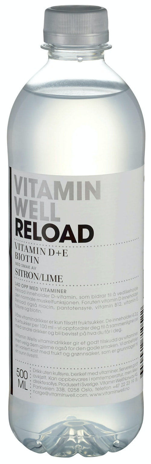 Vitamin Well Vitamin Well Reload 0,5 l