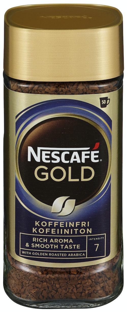 Nescafé Nescafé Koffeinfri Gull 100 g