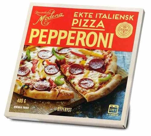 REMA 1000 Pizza Pepperoni 405 g