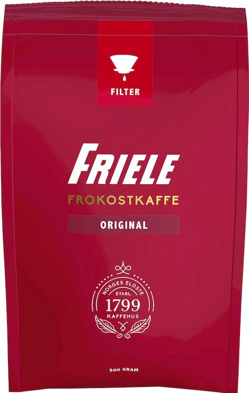 Friele Frokostkaffe  Filtermalt, 500 g