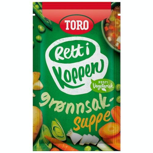 Toro Klar Grønnsaksuppe Rett i Koppen, 20 g