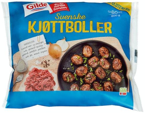 Gilde Svenske Kjøttboller Ca 60 stk