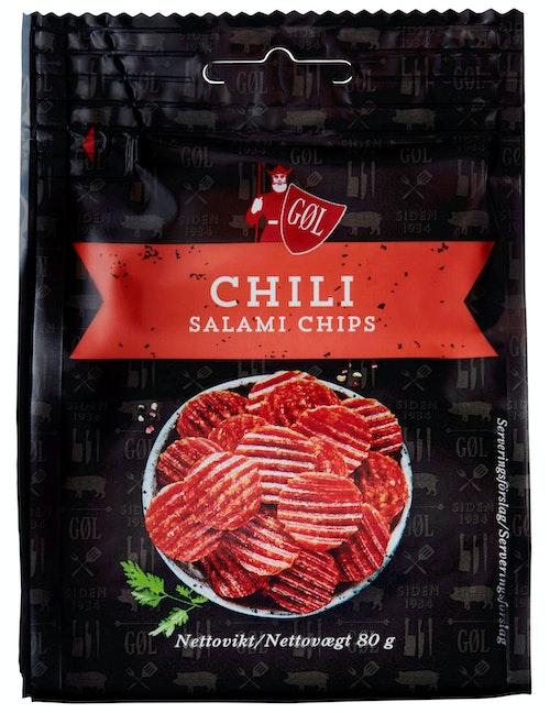 Tulip Chili Salami Chips 80 g