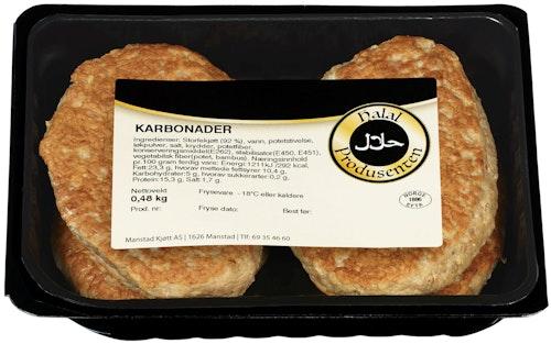 Karbonader Halal, 480 g