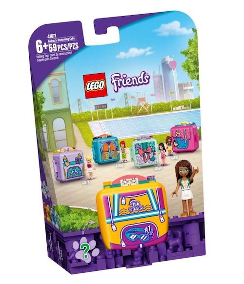 LEGO LEGO Friends - Andreas svømmeboks 1 stk