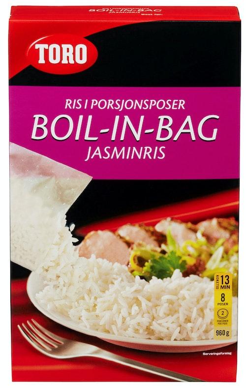 Toro Jasminris Boil in Bag 8 poser, 960 g