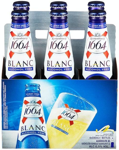 Kronenbourg 1664 Blanc Alkoholfri 6 x 0,33l, 1,98 l